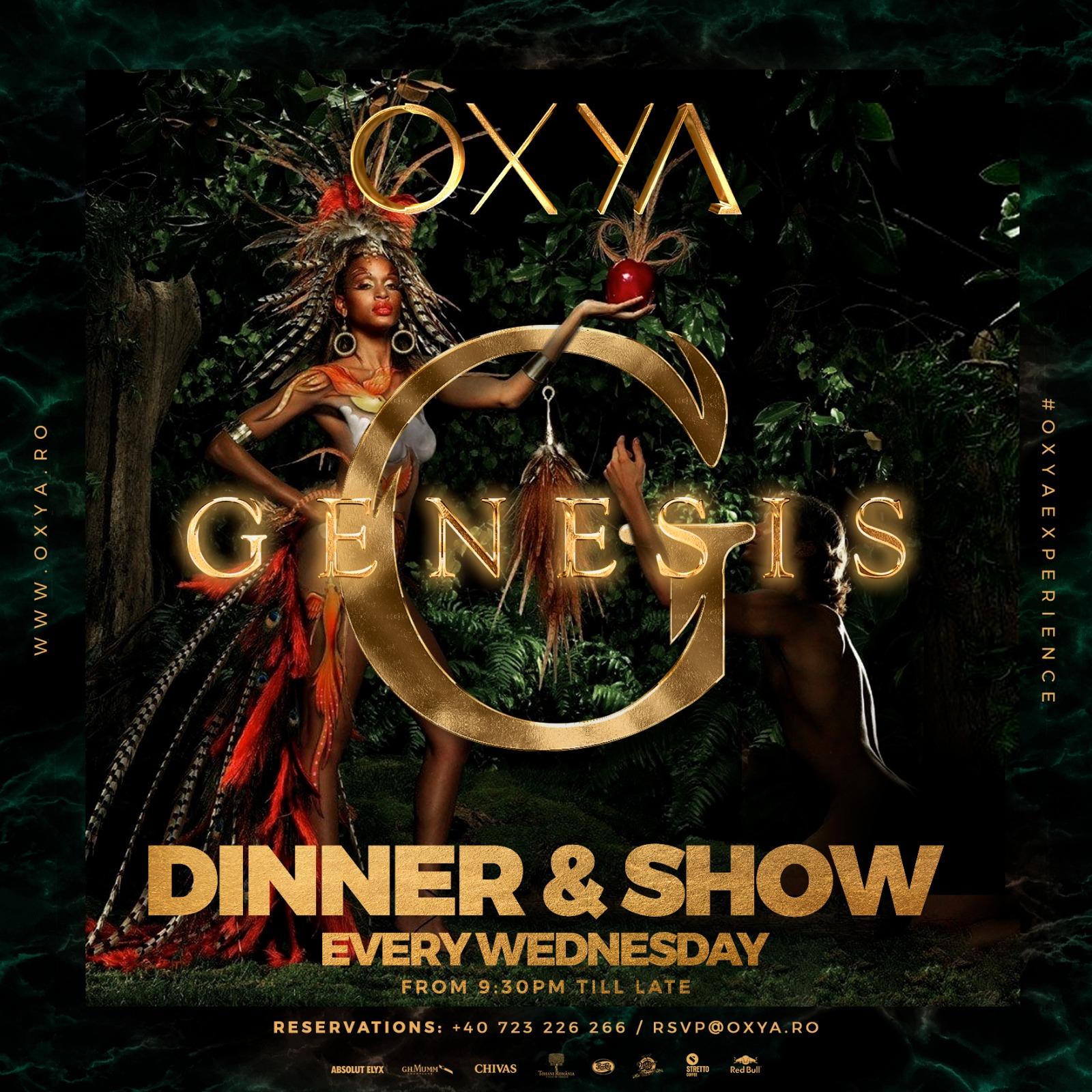 Genesis Dinner Show at OXYA